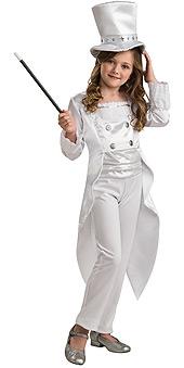 White Magician Child Costume