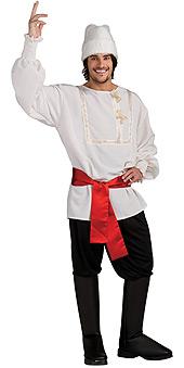 White Russian Male Costume