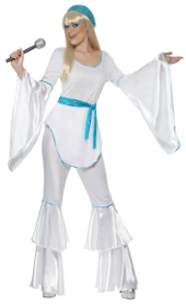 White Super Trooper Costume