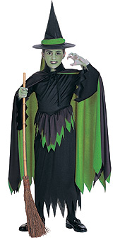 Wizard of Oz Child Wicked Witch of the West Costume