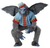 Wizard of Oz Evil Winged Monkey Costume