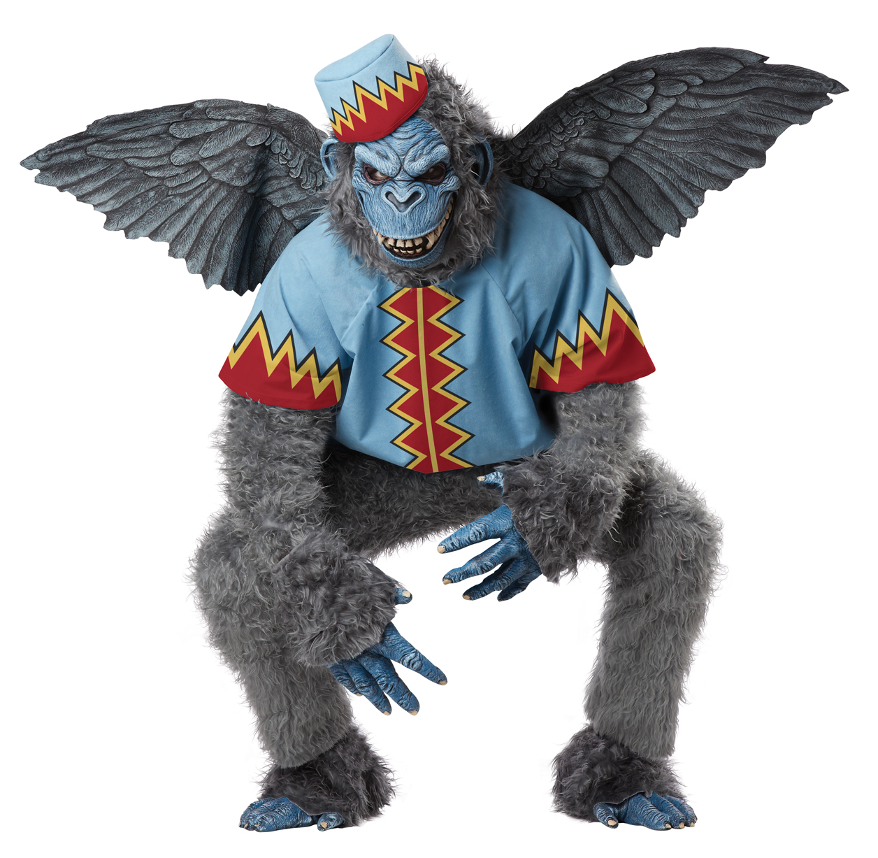 20d00011f Wizard of Oz Evil Winged Monkey Costume