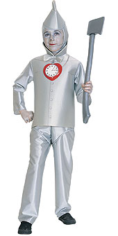 Wizard of Oz Tinman Child Costume