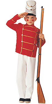Wooden Soldier Child Costume