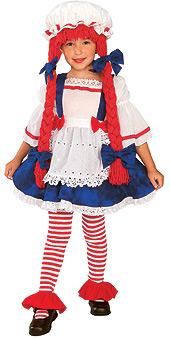 Yarn Babies Rag Doll Girl Costume