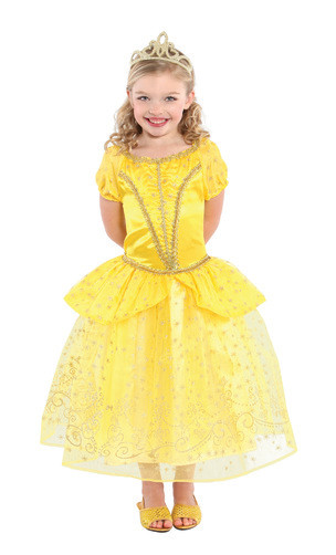Yellow Princess Dress Belle Child Costume