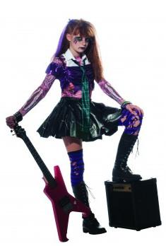 Zombie Punk Rocker Costume