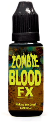 Zombie Rot Drying Blood