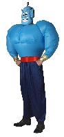 Aladdin Inflatable Blue Genie Costume