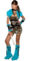 Barbarian Babe Teen Costume