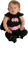 Batgirl Bib Infant Costume