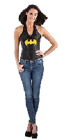 Batgirl Leather Look Corset Top