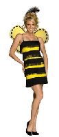 Bee Mine Bumblebee Flapper Costume