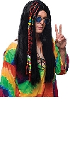 Black Hippy Beaded wig