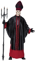 Black Mass Skeleton Costume