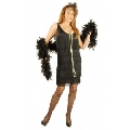 Black Plus Size Fashion Flapper Costume
