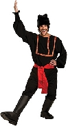 Black Russian Male Costume