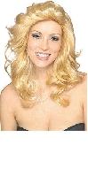 Blonde 70s Angel Wig
