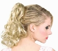 Blonde Wavy Pony Tail hairpiece