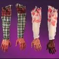 Bloody Fair Arm with Plaid sleeve
