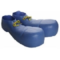 Blue Plastic Clown Shoes