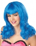 Blue Sensation Teenage Dream Wig