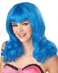Blue Sensation Teenage Dream Wig