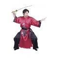 Blue and Black Samurai Costume