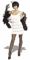 Broadway Babe Flapper White Costume