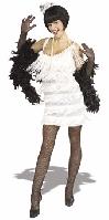 Broadway Babe Flapper White Costume