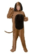 Brown Big Dog Costume