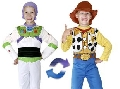 Buzz to Woody Reversible Child Costume