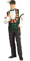 Card Dealer Adult Costume