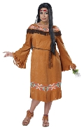 Classic Indian Maiden Plus Size Costume