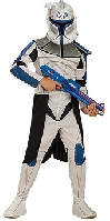 Clone Wars Captain Rex Child Costume