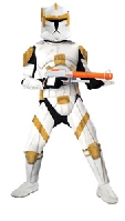 Clone Wars Clone Trooper Commander Cody Deluxe Adult Costume