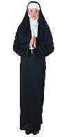 Comic Habit Nun Costume