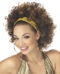 Disco Fab Brunette Wig