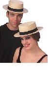 Economy Straw Sailor Hat