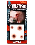 FX 3D transfer Capped Wounds