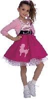 Fifties Girl Child Costume