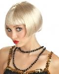 Flirty Flapper Wig Blonde