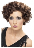Flirty Flapper Wig Brunette