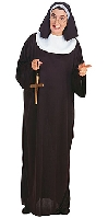 Full Figure Nun Costume
