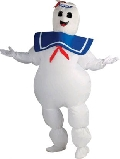 Ghostbusters Staypuft Marshmallow Man Adult Costume
