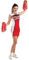 Glee Cheerios Cheerleader Costume