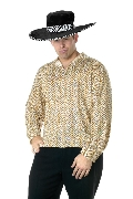Gold Pimp Shirt Costume