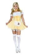 Goldee Locks with petticoat Costume