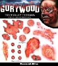 Gorywood Temporary Tattoos Burned Alive FX set