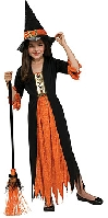 Gothic Witch Child Costume